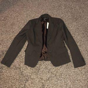 New York & Company Brown Suit Blazer - Size 4 NWT